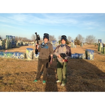 Paintball hosted by Absolut Vodka, Dec 2014